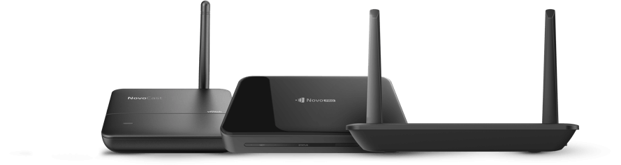 NovoConnect and NovoTouch devices
